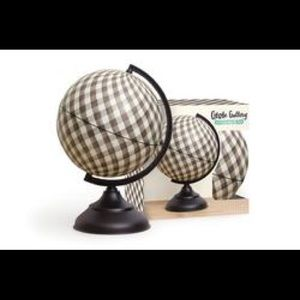 One Canoe Two Office - NIB Globe Gallery Gingham Craft DIY
